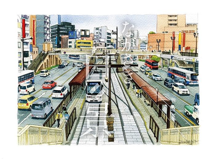 長崎駅前交差点